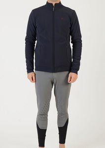 Man softshell | model STEVE | men softshell | riding softshell | leisure time | clothing | equestrian | jacket | man jacket | Makebe | elegance | comfort | comfort of movement | Made in Italy | riding |
