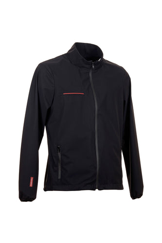 PATRICK | men windstopper bomber | men bomber | technical fabric | man bomber | clothing | Makebe | equestrian | leisure time | black |