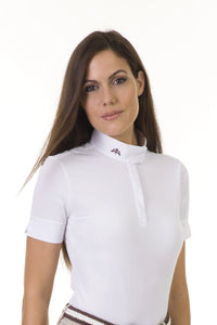 polo shirt | technical fabric | cotton | technical materials | white