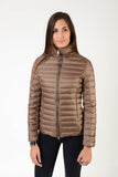 Down ladies jacket | winter jacket | chocolate
