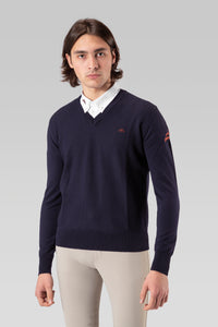 Men Merinos wool sweater mod. NICOLA