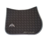 Jump carded | Makebe logo | saddle pad | saddlepad | Makebe | Stable | made in Italy | equestrian | grey