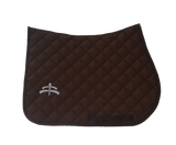 Jump wadded | Makebe logo | saddle pad | saddlepad | Makebe | Stable | made in Italy | equestrian | black