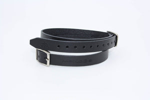 Spur Leather Strap | spur | made in Italy | Makebe | technical | unisex | agility fit | strap | spur strap | horse | riding | equestrian | leather | colored | black |