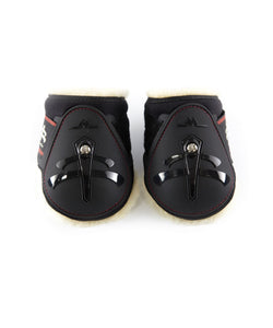 Sheep Skin fetlock | young horse | Fetlock boots protection | Makebe | Horse accessories | Technical | riding accessories | equestrian | tendons protection | riding | black |