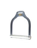 Jump stirrup | wave shape | Makebe | Technical | equestrian | riding | aluminum | inclined bench | easy to clean | innovative grip | Made in Italy | many colors | comfortable | comfort | anodic oxidation | titanium