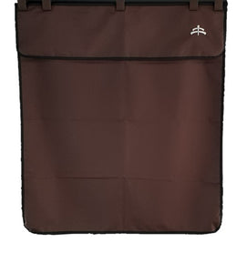 Stable drape | stable | drape | Makebe logo | equestrian | riding | horse | colors | Makebe | stable line | brown |