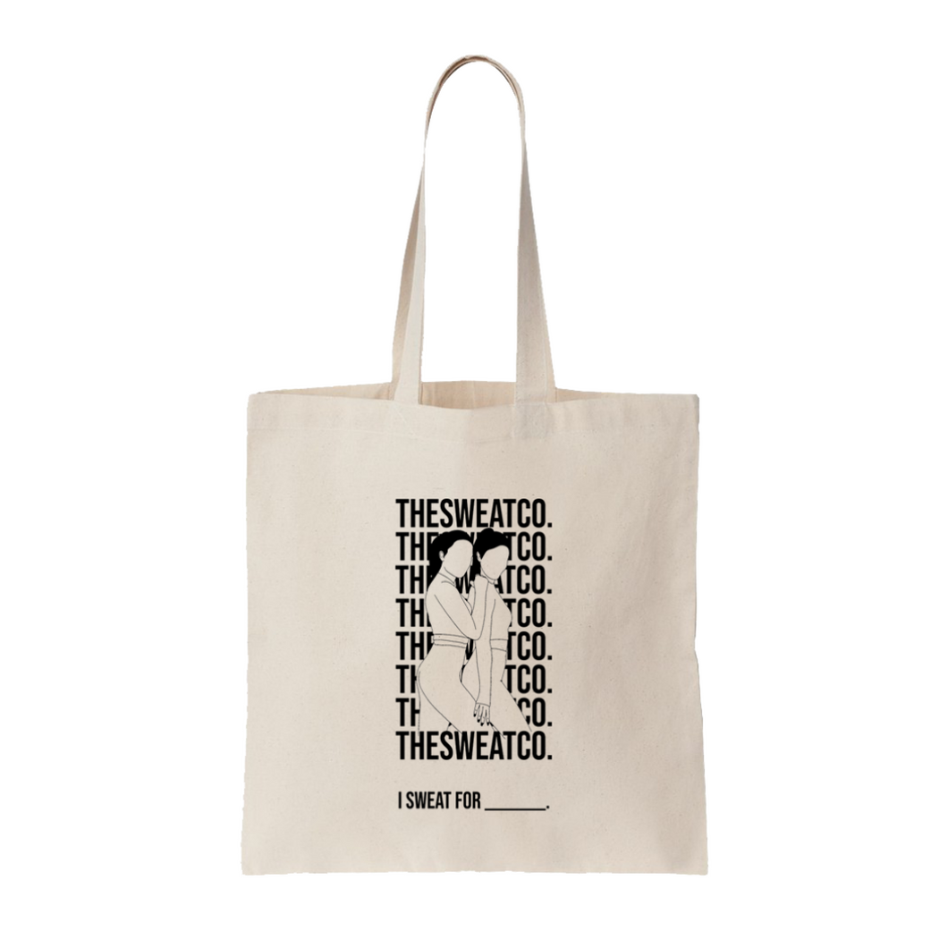 'I SWEAT FOR' Tote Bag