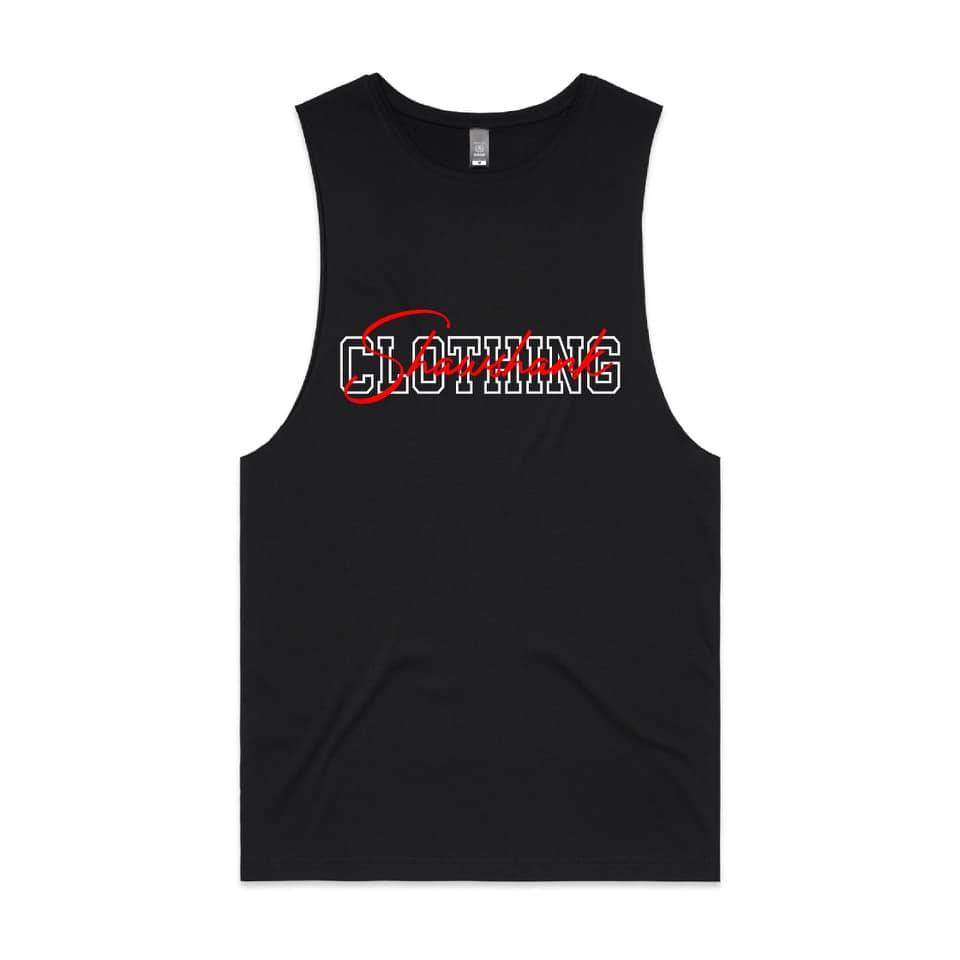 'MEN'S ''EMBROIDED SIIGNATURE'' Sleeveless Tank Top