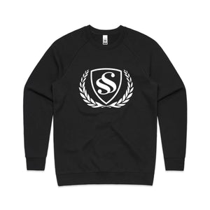 Men's Logo Print Long-Sleeve Sweatshirt