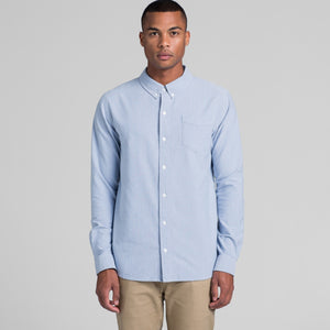 MENS OXFORD LONG SLEEVE SHIRT - Shawshank Clothing