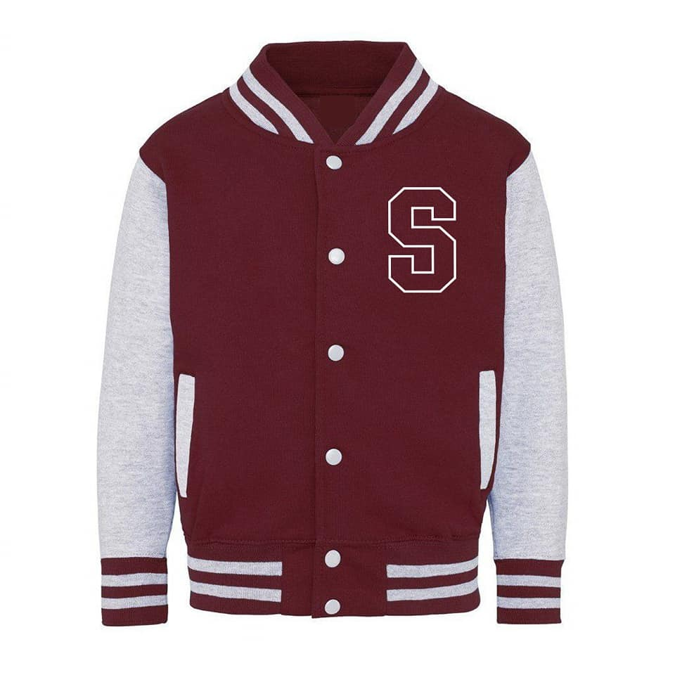 KJ01- Kids Shawshank College Varsity jacket. - Shawshank Clothing