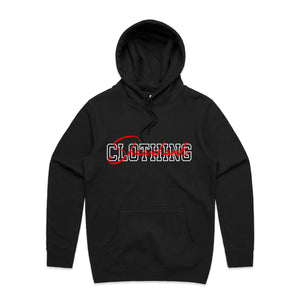 Men's Embroided Signature hooded jumper