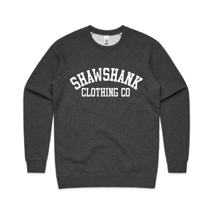 Men's ''SHAWSHANK COLLEGE'' Long-Sleeve Sweatshirt