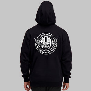 SH04- MOTORCYCLE CLUB RETRO HOODIE - Shawshank Clothing