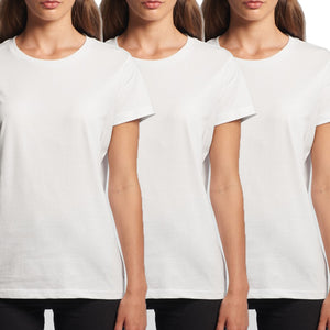WT02 - Womens Regular Fit T-shirt - 3 Pack - $39.00 - Shawshank Clothing