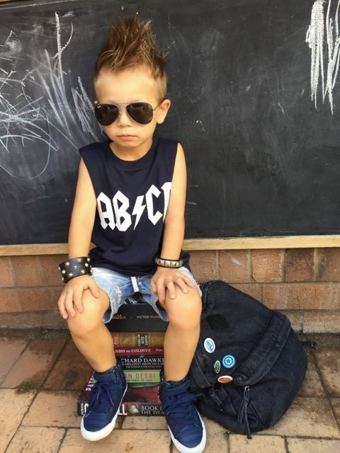 KT05- AB CD-KIDS-TSHIRT-TANK - Shawshank Clothing