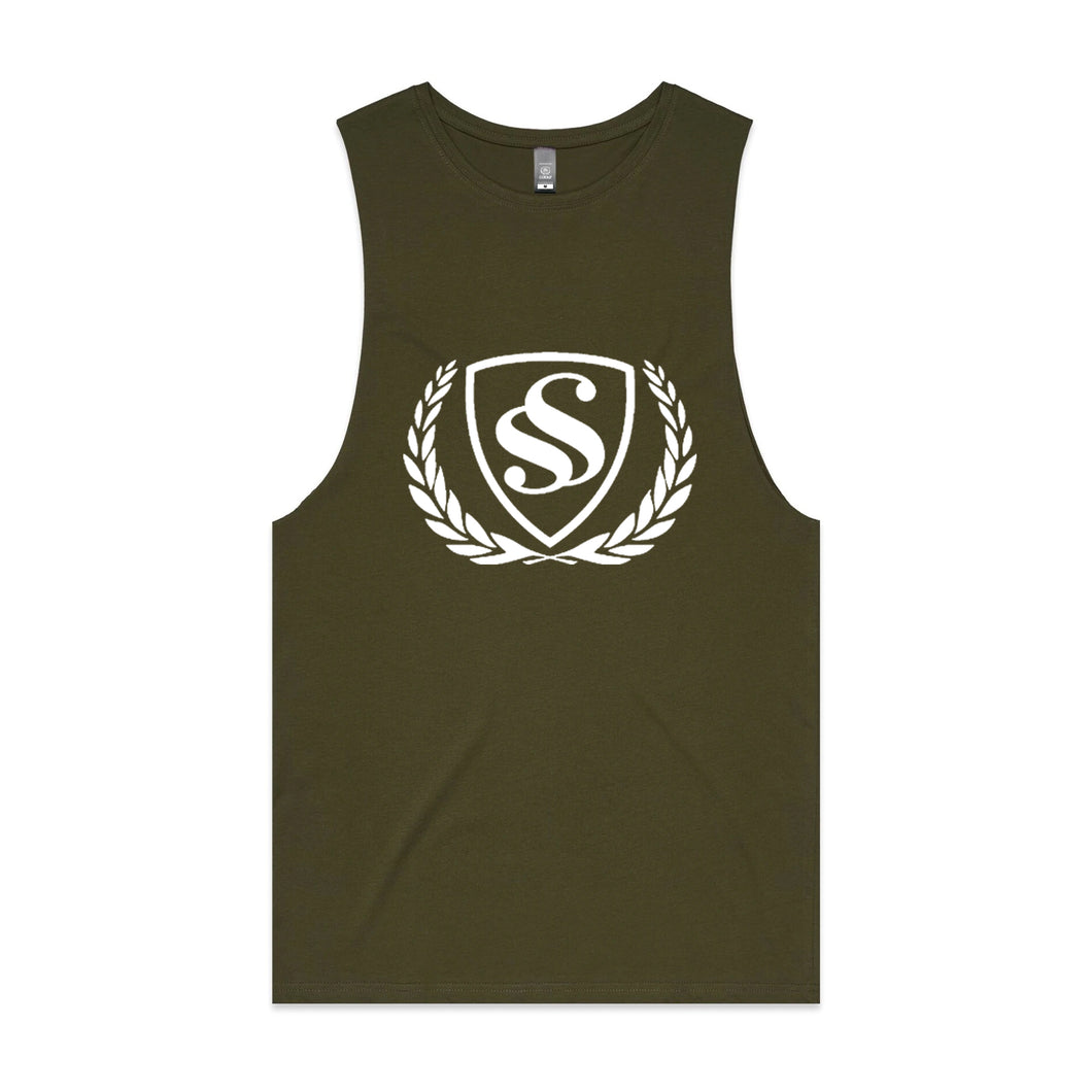 MEN'S LOGO PRINT'' Sleeveless Tank Top