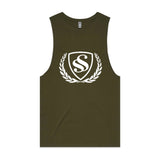 "MEN'S LOGO PRINT'' Sleeveless Tank Top""."
