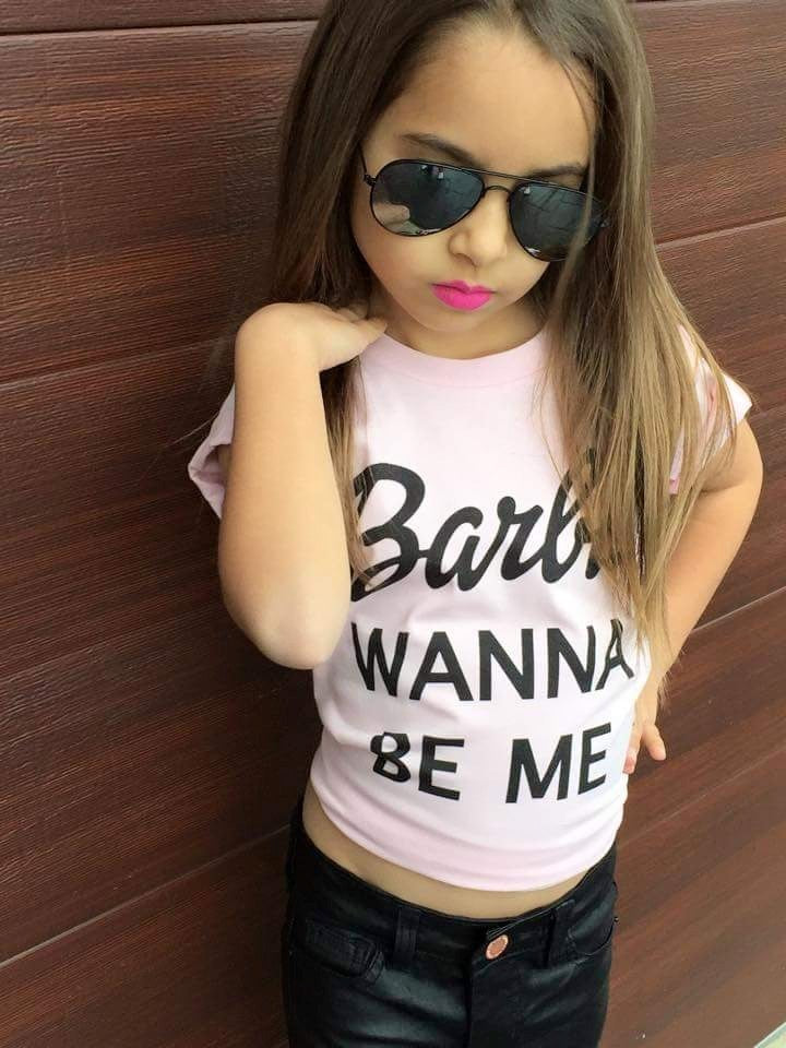 BARBIE WANNA BE ME TSHIRT - Shawshank clothing