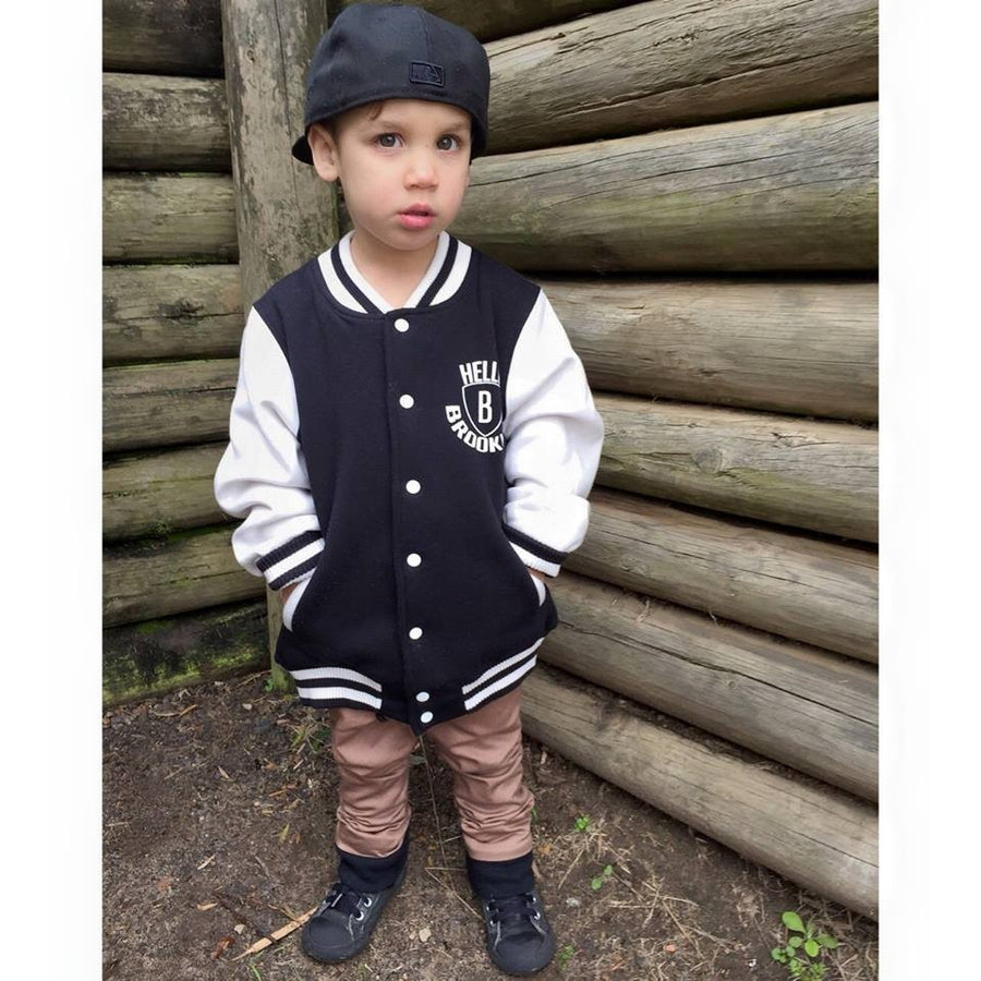 KIDS HELLO BROOKLYN COLLEGE JACKETS - Shawshank clothing