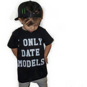 KT23- I ONLY DATE MODELS T-SHIRT / TANK - Shawshank Clothing