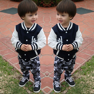KIDS LA COLLEGE JACKETS - Shawshank clothing