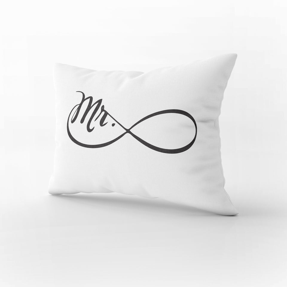PS08- MR & MRS PILLOW CASES - Shawshank Clothing