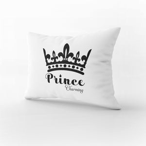 PS05- PRINCE & PRINCESS PILLOW CASES - Shawshank Clothing