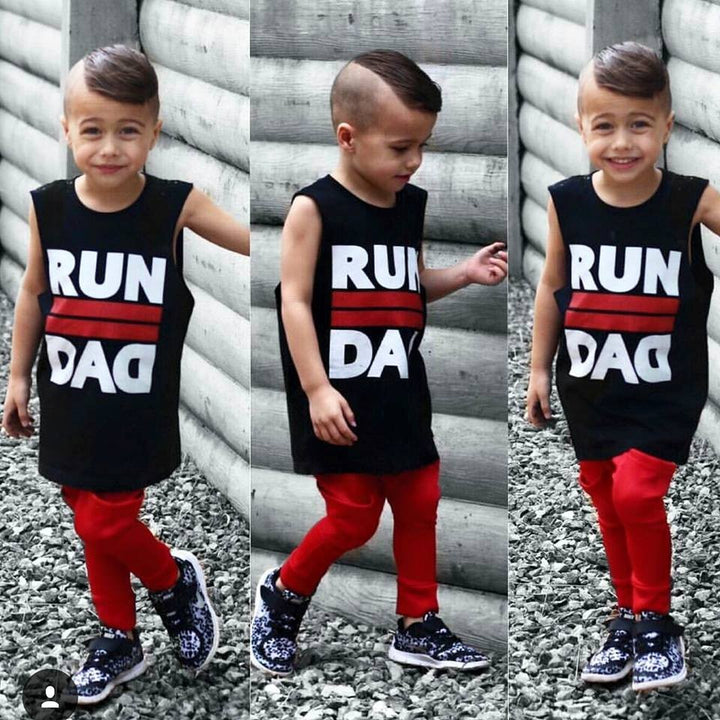 RUN II DAD TSHIRT / TANK - Shawshank clothing