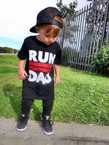 KT26- 'RUN II DAD' TSHIRT / TANK - Shawshank Clothing