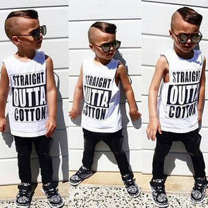 STRAIGHT OUTTA COTTON TSHIRT / TANK - Shawshank clothing