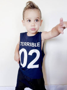 KT10- TERRIBLE 02-KIDS TSHIRT / TANK - Shawshank Clothing