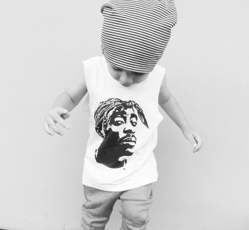 TUPAC LIVES KIDS TSHIRT/ TANK - Shawshank Clothing