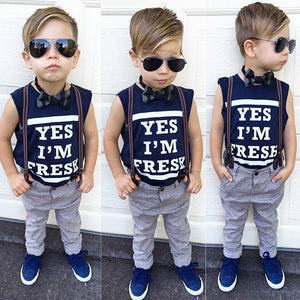 YES IM FRESH TSHIRT / TANK - Shawshank clothing