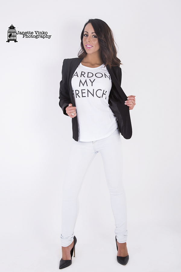 WOMENS I PARDON MY FRENCH I TSHIRT - Shawshank clothing