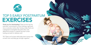 Top 5 Early Postpartum Exercises eBook