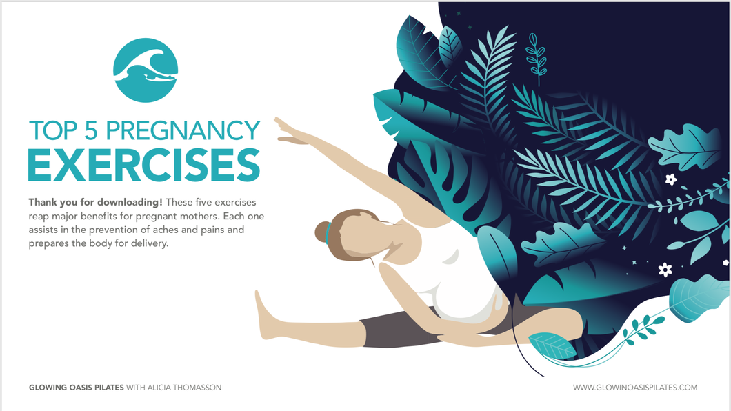Top 5 Pregnancy Exercises eBook