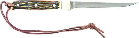 Uncle Henry Small Fillet Knife Full Tang Fixed Blade
