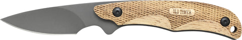 Old Timer Copperhead Full Tang Fixed Blade Caping Knife
