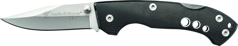 Smith & Wesson 24-7 Liner Lock Folding Knife Clip Point Blade Aluminum Handle