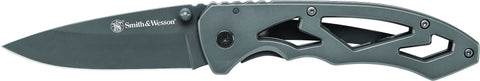Smith & Wesson Frame Lock Drop Point Folding Knife