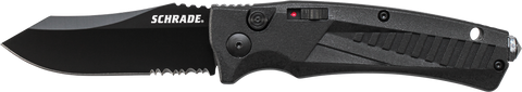 Schrade Push Button Lock Folding Knife