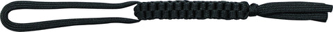 Schrade Black 550 Paracord Braided Lanyard