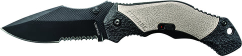 Schrade M.A.G.I.C. Assisted Opening Liner Lock Folding Knife Partially Serrated Clip Point Blade