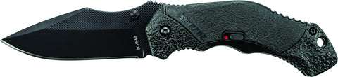 Schrade M.A.G.I.C. Assisted Opening Liner Lock Folding Knife Clip Point Blade Aluminum Handle