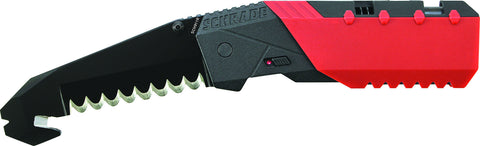 Schrade Professionals M.A.G.I.C. Assisted Opening Liner Lock Folding Knife Rescue Blade Aluminum Ha