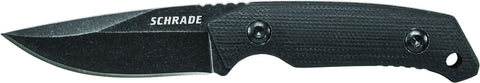 Schrade Mini Full Tang Drop Point Fixed Blade G-10 Handle