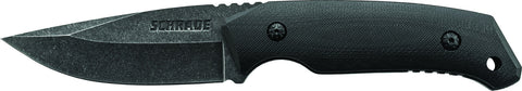 Schrade Full Tang Drop Point Fixed Blade G-10 Handle