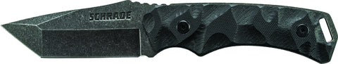 Schrade Full Tang Tanto Fixed Blade G-10 Handle